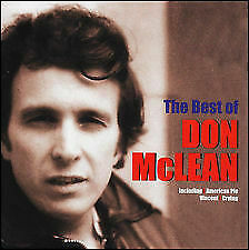 DON MCLEAN - THE BEST OF CD - AMERICAN PIE,VINCENT -70's GREATEST HITS -NEW