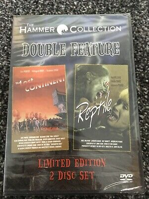 THE LOST CONTINENT/THE REPTILE  Hammer Collection Double Feature  NEW & SEALED