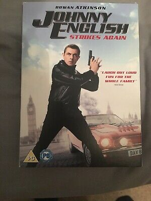 JOHNNY ENGLISH strikes again - DVD - *NEW & SEALED*