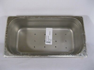 Medical Instrument Tray/Autoclave Pan/ Stainless Steel - 12-3/4 x 7 x 4