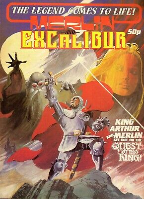 MERLIN AND EXCALIBUR - Summer Special 1981 - Marvel UK comic