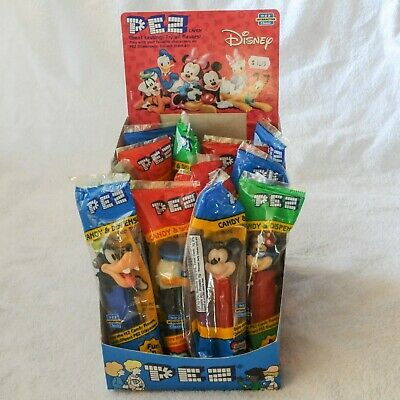Pez Dispenser Lot - 13 Disney Pez Sealed w/Candy Mickey & Minnie Mouse & More