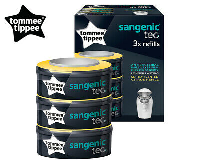 2 x 3 Pack Tommee Tippee Sangenic Nappy Disposal System Refills