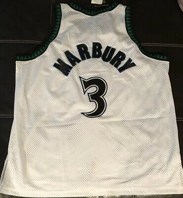AUTHENTIC STEPHON MARBURY Starter Minnesota Timberwolves Jersey 48 ... 06b8665ab