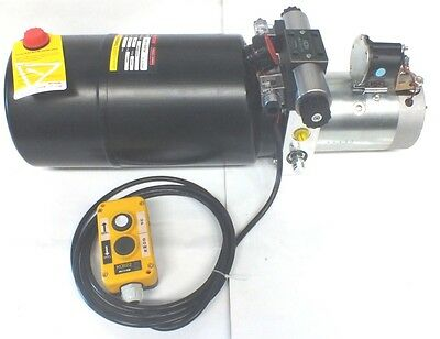 Hydraulic Power Pack  HIGH POWER  ! 2.8 KW Dbl Act 9 Lpm FREE POST AUSTRALIA !!