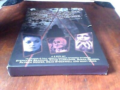 Hammer House Of Mystery And Suspense Vol.1 DVD 2005 3-Disc Set OOP Susan George
