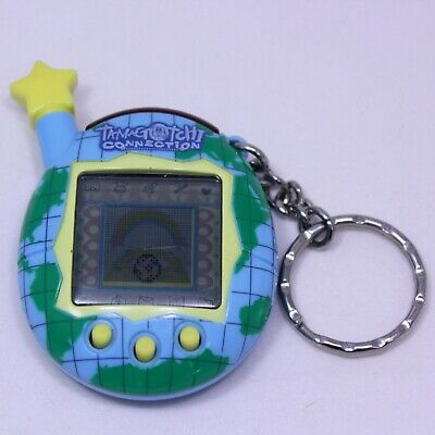 Tamagotchi Connection V.5 Blue Map Yellow Star