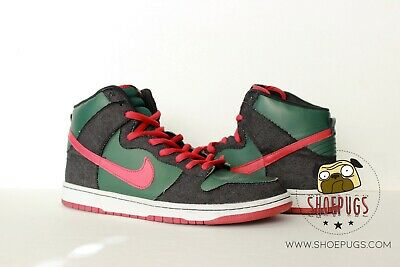 newest ae24b 546cd 2009 NIKE DUNK SB High RESN sz 13 w/ Box deep forest supreme | TRUSTED  SELLER