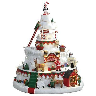 NEW Lemax North Pole Tower Sighs & Sounds Christmas 2018 NIB Brand New Santa