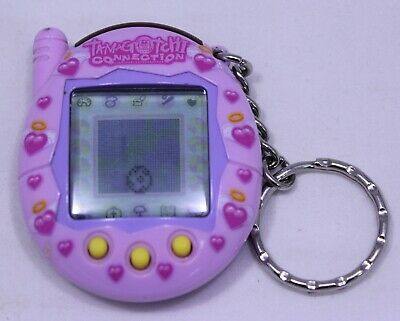 Tamagotchi Connection V3 Pink Purple Angel Hearts Halos Wings