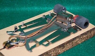 1/24 JK Cheetah 11 slot car running chassis with Hawk Retro motor