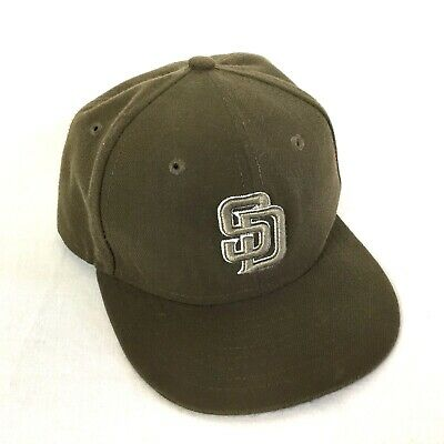 2413fa3bbb4 SAN DIEGO PADRES New Era On Field Official Cap Size 7 3 4 -  14.99 ...