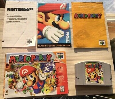 MARIO PARTY 1 (Nintendo 64, N64) Complete in Box -- Authentic -- Tested