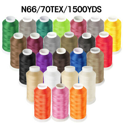 1500Yard #69 T70 210D/3 Strong Bonded Nylon Sewing Thread For Leather Handcraft