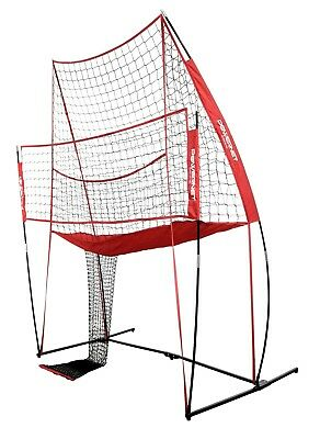 PowerNet Volleyball Practice Net Station | Volleyball Training Net  PowerNet