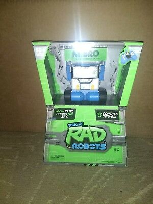Really Rad Robots MiBro Remote Control RC Your Chattin' Buddy -  NEW IN HAND!!!