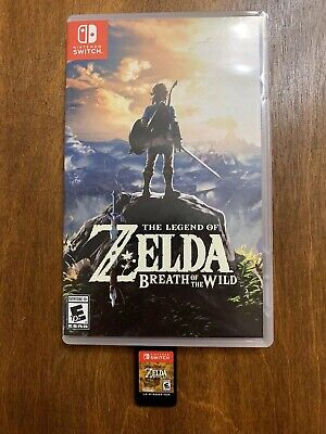The Legend of Zelda: Breath of the Wild Nintendo Switch - SHIPS ASAP!!!