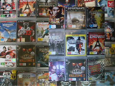 PS3 Playstation 3 games | Various titles, please make your selection
