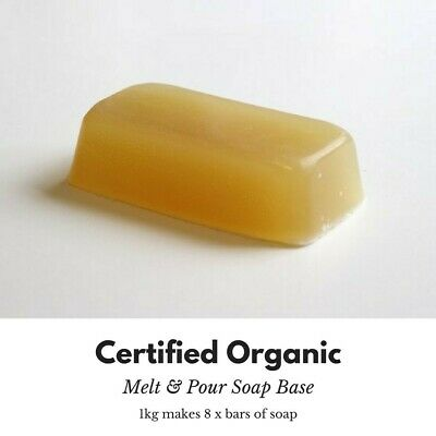 Organic 5kg Melt and Pour Soap Base Natural Plant Soap Base make Own Soap