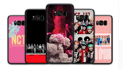 NCT 127 Kpop Soft Black Case For Samsung S10 S9 S8 S7 - A3 A5 A6 A8 A9