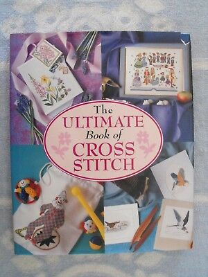 The Ultimate Book Of Cross Stitch-Greeting Cards-Pegbag-Bookmark-Picture Frame