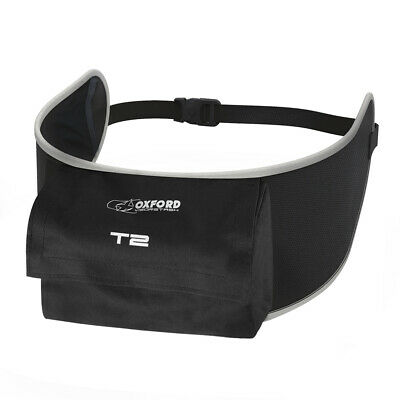Oxford Visorstash T2 Deluxe Visor Carrier w/pocket Motorcycle Motorbike