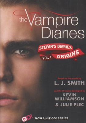 FICTION , VAMPIRE DIARIES , STEFANS DIARIES , ORIGINGS by L J SMITH