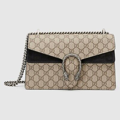 Authentic Gucci Classic Dionysus Small Gg Shoulder Bag