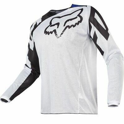 FOX RACING 180 Airline White Black Jersey MOTOCROSS OFF ROAD Adult Size M Medium