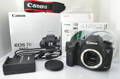 EXC+ Canon EOS 7D Mark II 20.2MP Digital SLR Camera w/Box #3121 from Japan