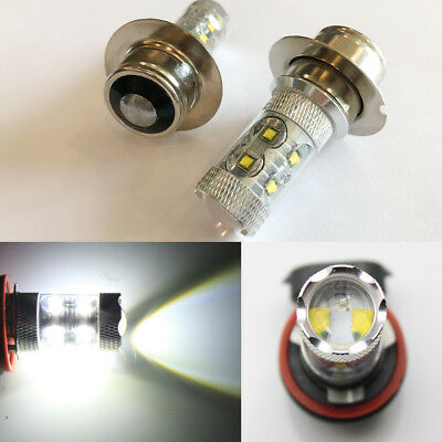 2x 50W CREE LED LUCAS LLB323 SPOTLIGHT / FOG LIGHT BULBS 12v P36s SFT576 SFT700