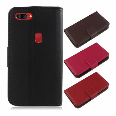 For Blackview/Leagoo Phone - Luxury Genuine Real Leather Flip Case Wallet Cover