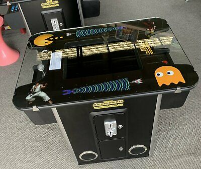 Arcade Classic Cocktail Table Game. 1200 Games Machine