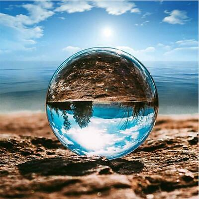 Clear Photography Crystal Glass Ball Sphere Photo Props 30mm/40mm/50mm/60mm
