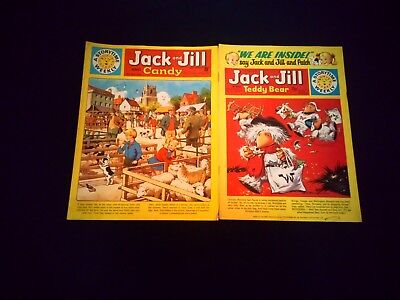 Jack and Jill Vintage Comic's x 2 Very Rare 1970/1975