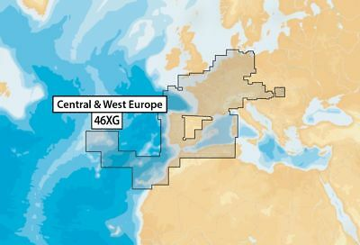 NAVIONICS+ 46XG Update - CENTRAL & WEST EUROPE  CF