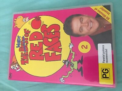 The Worst Of Red Faces Volume 2 DVD Hey Hey It's Saturday Red Symons