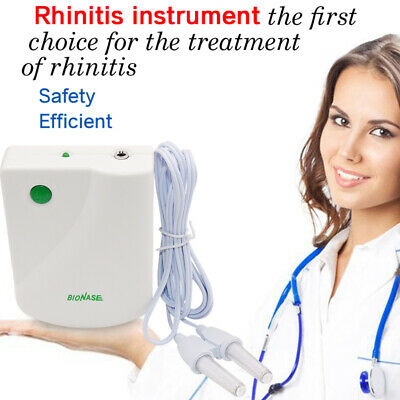 Rhinitis Sinusitis Nose Therapy Massage Device Cure Hay Fever Pulse Laser