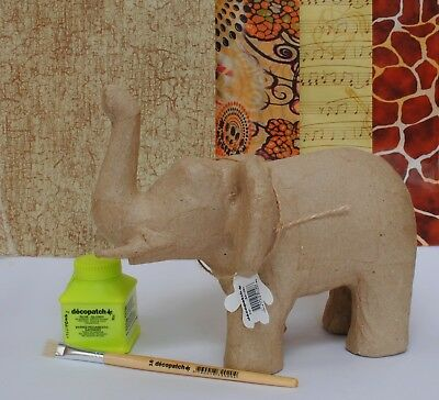 Decopatch Elephant Kit Children's Craft Animal Kit Gift