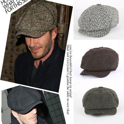 Tweed di Lana Cabbie Coppola Cappello Uomo Lvy Cappello Golf Driving Sole  Basse bbfd367afdcf