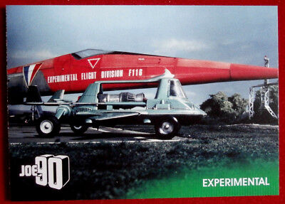 JOE 90 - EXPERIMENTAL - Card #23 - GERRY ANDERSON COLLECTION - Unstoppable 2017