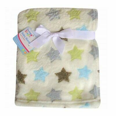 First Steps Baby Blanket 75 x 100cm Stars