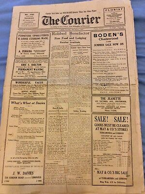 The Courier - 12th January 1933