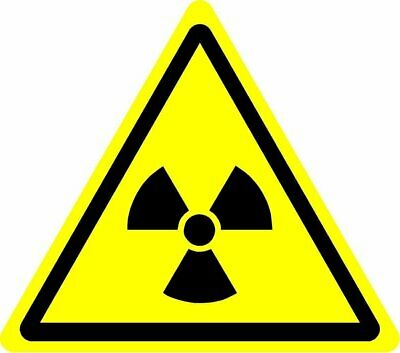 ISO Safety Sign - International Radioactive Hazard Symbol