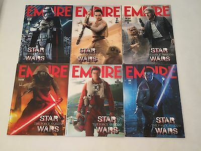 Empire Magazines Star Wars The Force Awakens lenticular 3D complete set of 6