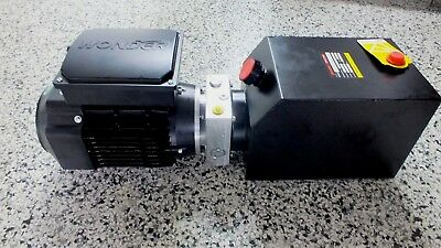 Hydraulic Power Pack 240Volt AC 2.2KW P&T, Single or Double Acting 5.8 LPM