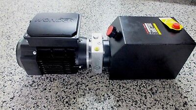 Hydraulic Power Pack 240Volt AC 1.1KW P&T, Single or Double Acting 3.0 LPM