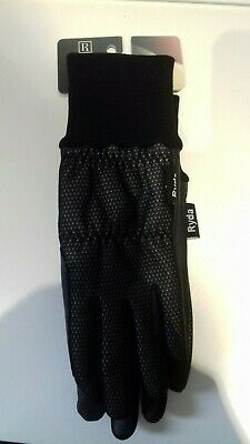 NEW Ladies RYDA Winter Lined Thermal Horse Riding Gloves  Black Small
