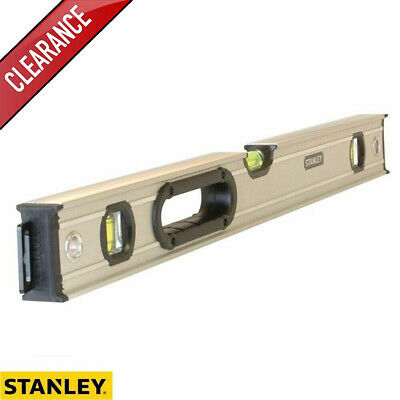 Stanley 0-43-624 FatMax Pro Box Spirit Level 3 Vial 60cm STA043624 - Clearance