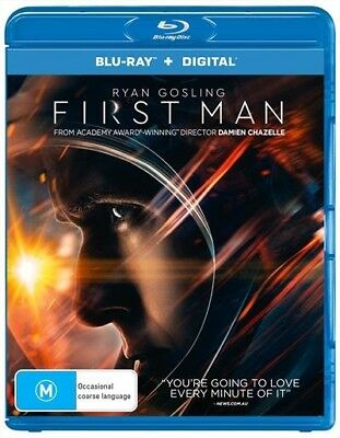 First Man (Blu-ray, 2019, 2-Disc Set)
